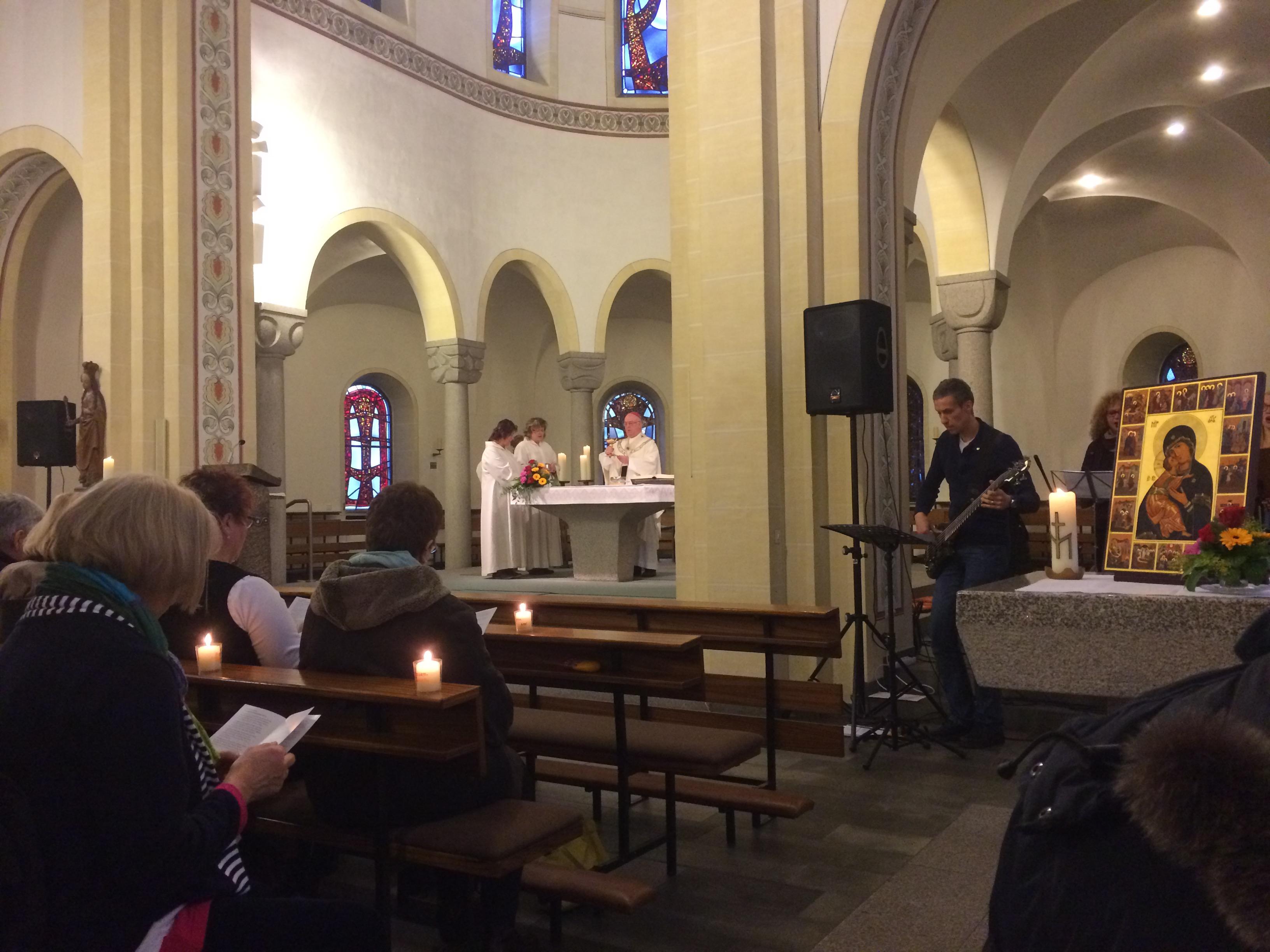 Kirchenband spiritus@laurentius 100 Jahre kfd Diözesanverband Paderborn