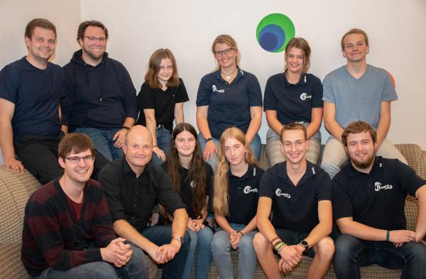 Gruppenfoto der Leiterrunde der Bonijugend