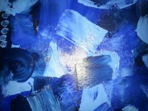 Zweite Frühschicht in ST. Laurentius - Die Farbe Blau