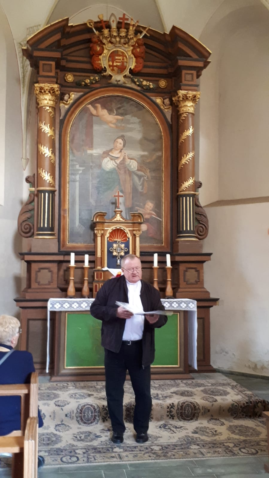 Gottesdienst mit Pastor Schottek