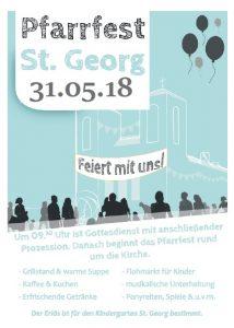 Pfarrfest 2018 St. Georg