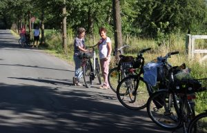 Unterwegs kfd Radtour