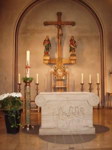 Wallfahrt Marienloh - Altar