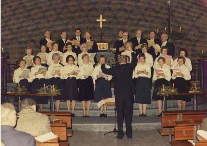 St. Laurentius Kirchenchor 70er Herr Hans Baier