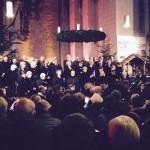 Motettenchor beim Konzert