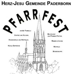 Plakat Pfarrfest Herz Jesu 2015