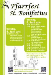 Pfarrfest St. Bonifatius, 04./05.06.2016