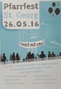 Pfarrfest St. Georg am 26.05.2016