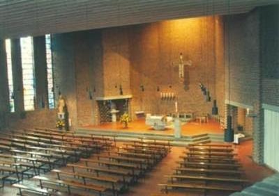 Innenansicht der Kirche St. Bonifatius