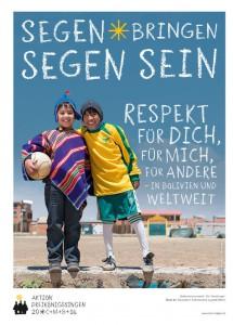 Plakat zur 58. Aktion Dreikönigssingen 2016